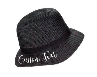 CUSTOM Girls Sun hat  22bf99a8d2c