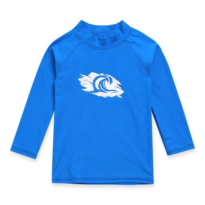 KIDS personalized long sleeve rashguard|swimwear top for kids|rash guard for kids|custom text rashguard|customized swim top|UPF 50 rashguard