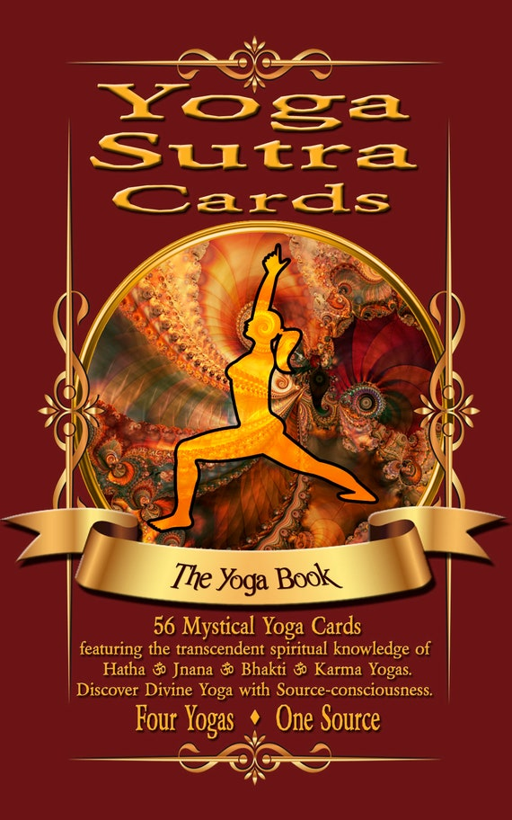 Download Yoga Sutra Card Pdf Book Discover Your Own God Etsy