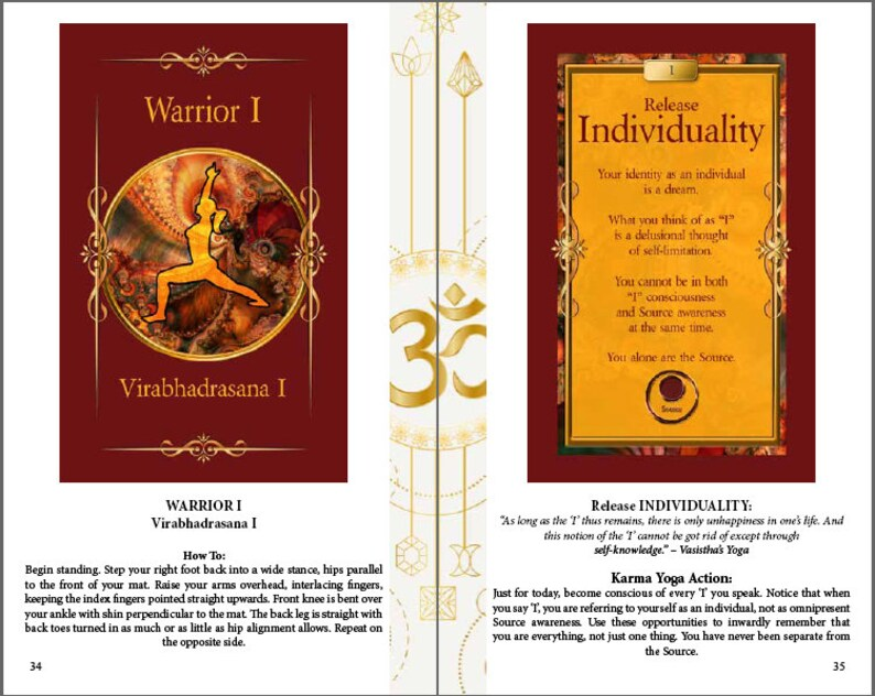 DOWNLOAD: Yoga Sutra Card PDF Book *Discover Your Own God Awareness *Mystic  Mystical Yoga *Created by an Awakened Mystic *135-page PDF Book