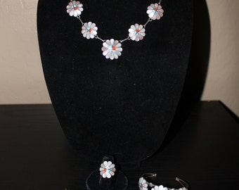 Zuni Child's Ceremonial Jewelery Set in Sterling Silver