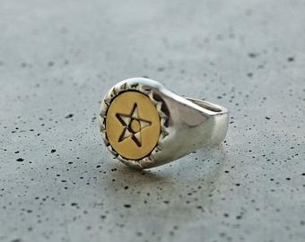 Three Layer Ring – Star
