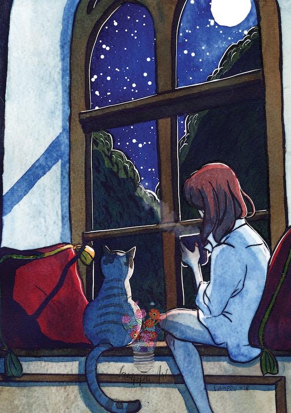 Moonlight - art print