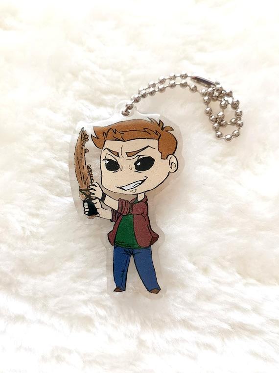 Demon Dean charm/keychain