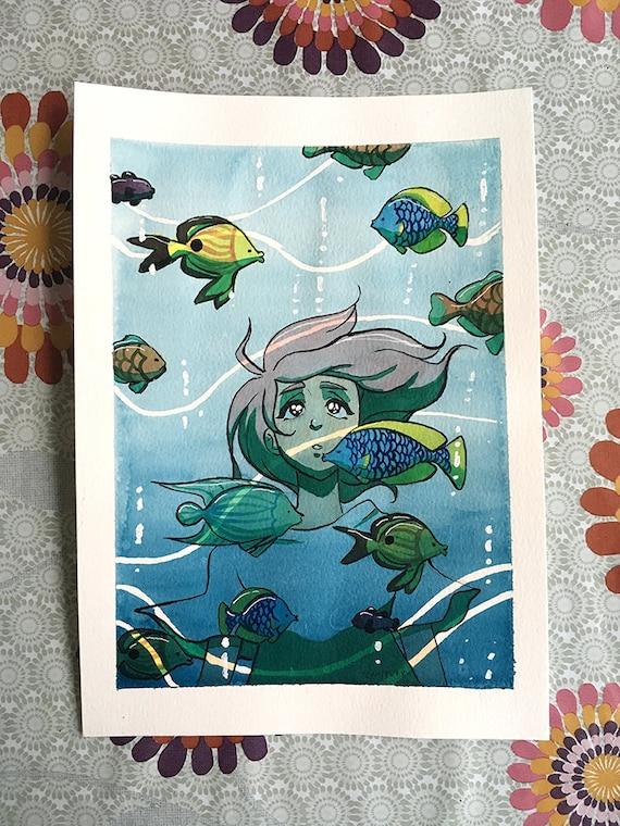 "ORIGINAL ARTWORK ""Submerged"""