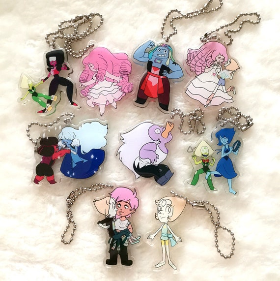 Steven Universe acrylic charms/keychains