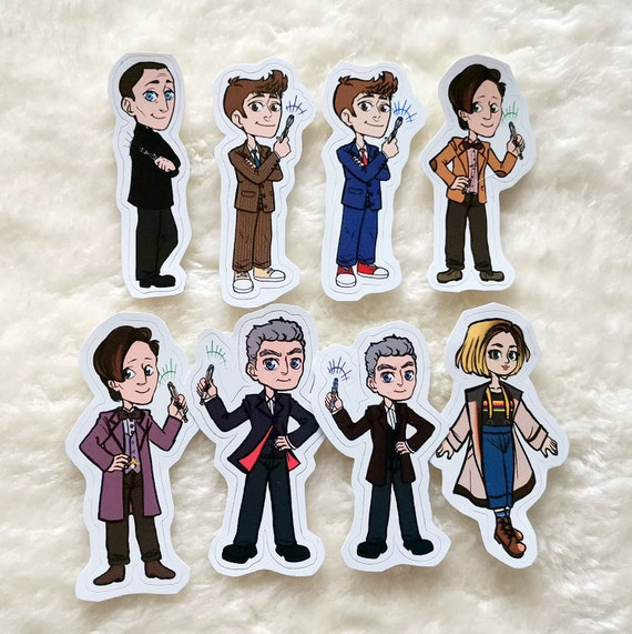 Doctor Who sticker the Doctor