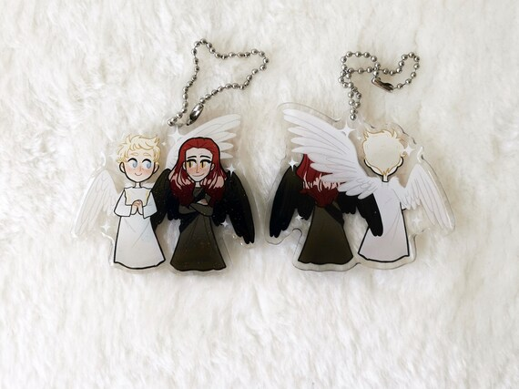 Good Omens Crowley and Aziraphale charm Eden