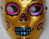 Oro - Wretch a mask painter original hand painted mask. one of a kind