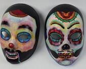 Wretch a mask painter Ventriloquist quot Creature quot and quot Puppet quot