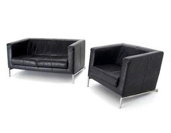 Fabulous Vintage Leather Montis Sofa And Chair By Gerard Van Den Berg Dutch Danish Modern Contemporary Kubik Iconic Design Made Between 1970 1979 Creativecarmelina Interior Chair Design Creativecarmelinacom