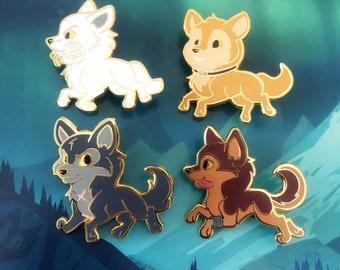 Wolf's Rain Anime Enamel Pins Wolf Wolves