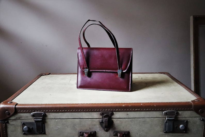 3a2bfbc81f5c Kelly     vintage handbag     leather bag     Box-calf