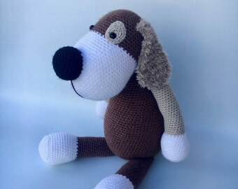 BORIS the dog crochet