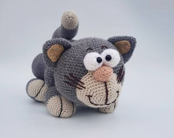 SACHA the cat crochet