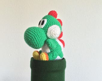 YOSHI crochet little dino