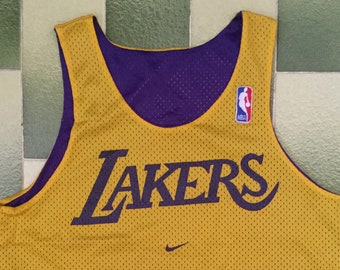 0e71a34c3 Nike NBA Los Angeles Lakers Reversible Practice Jersey Size M