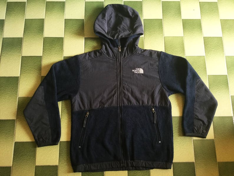 0adcdd1c1 The north face fleece polartec hoodie jacket Size M boys