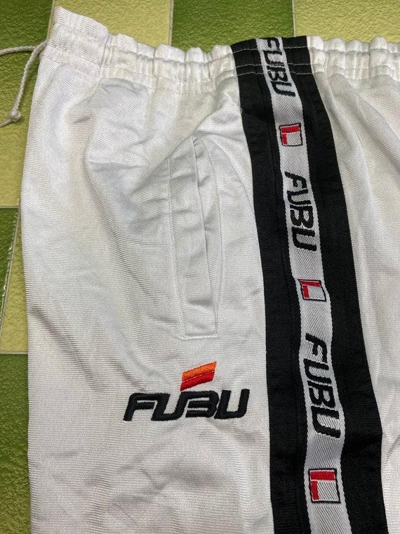 FUBU Tapered Side logo Pants Drawstring Jogger Pan
