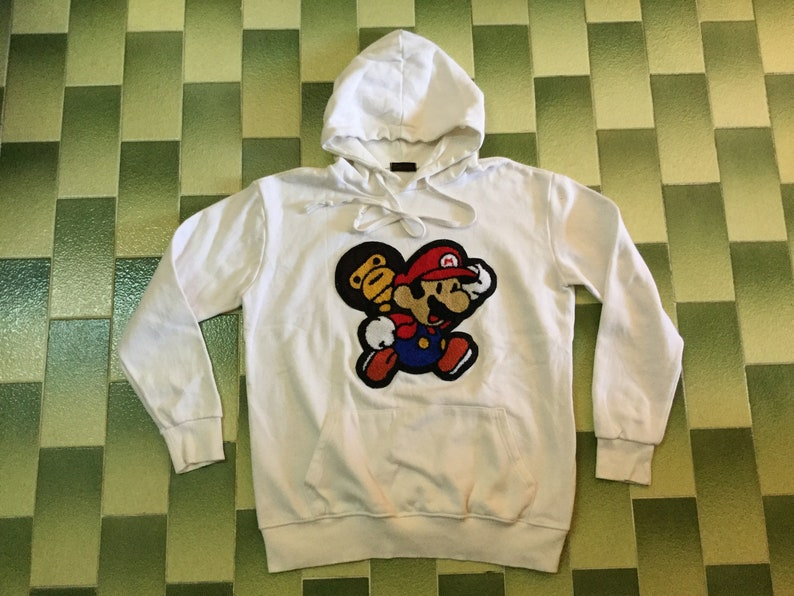1984f676fe90 Super mario X baby milo pullover hoodie sweatshirt pouch