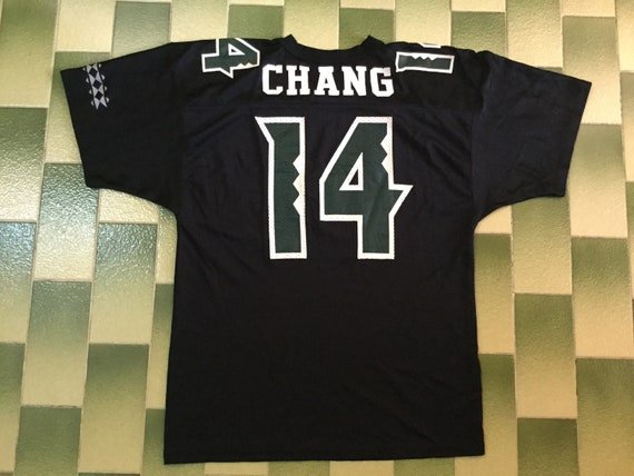 big sale 24819 41d24 Vintage Hawaii Rainbow Warriors football jersey Size Youth XL Russell  Athletic NCAA football jersey Chang #14