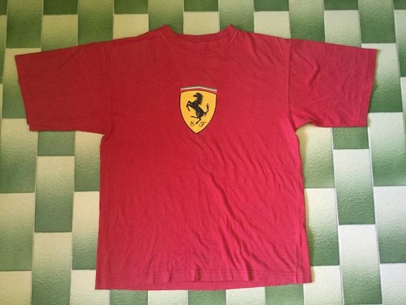 vintage ferrari t shirt
