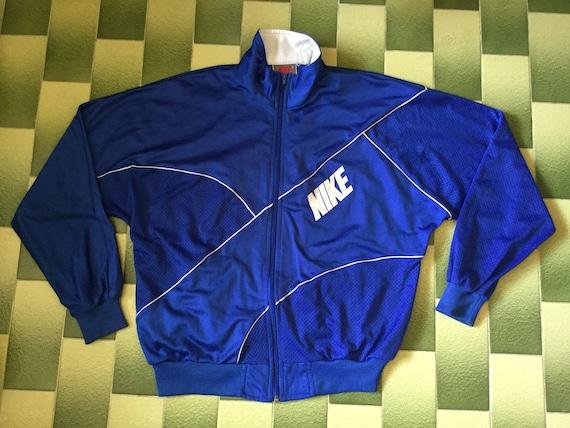 Nike Track jacket full zip tracksuit top Size M