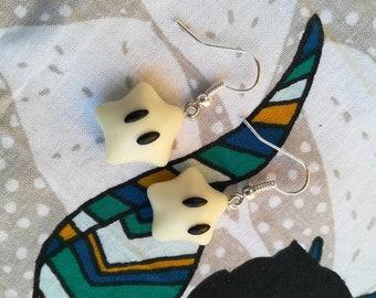Glow in the dark Star Earrings