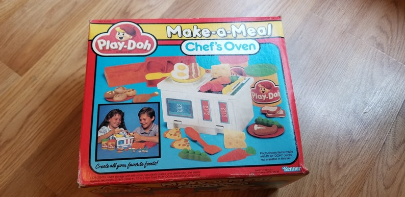 Vintage Kenner A Repas Play Du Make ChefEtsy Doh Four 1988 6ybf7g