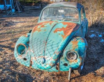 Vw beetle photo   Etsy