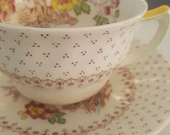 Royal Doulton Grantham Teacups and Egg Cups