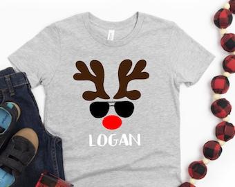 Cute Reindeer Outfit For Christmas Toddler//Kids Sweatshirt Girls Boys