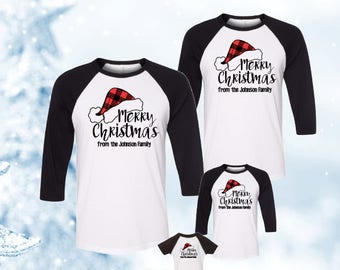 family christmas shirts etsy