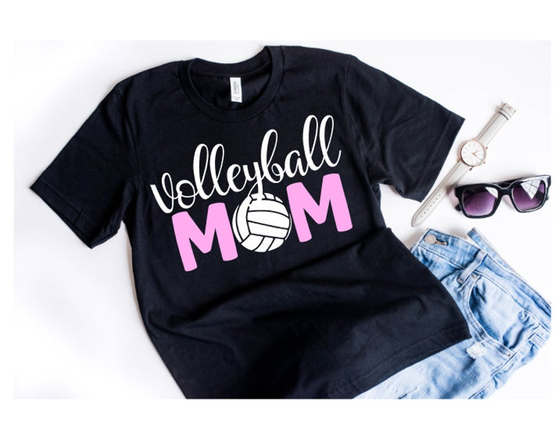 c5f8f383 Volleyball Mom Shirt Volleyball for Moms Volleyball Shirts | Etsy