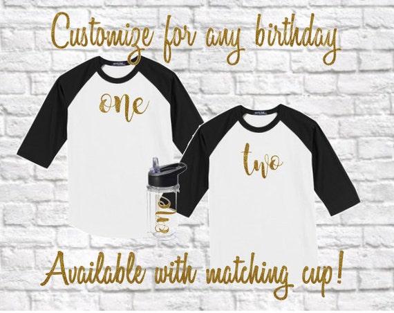 Toddler Birthday Shirt First Baby