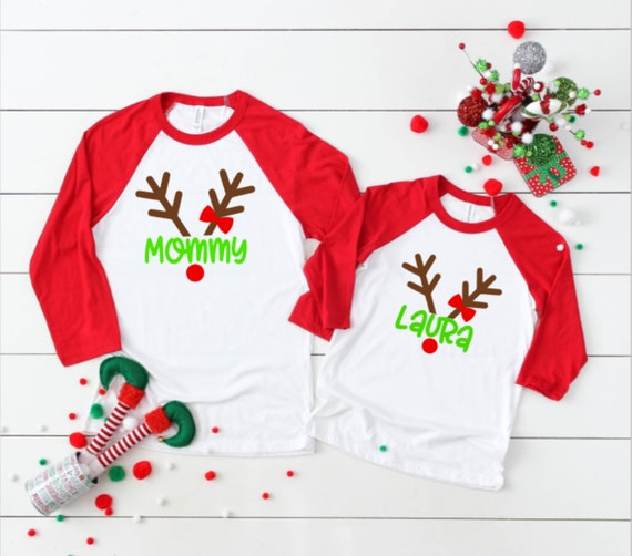 Matching Christmas Shirts For Family.Family Reindeer Shirts Family Christmas Shirts Matching Christmas Shirts Reindeer Christmas Shirts Personalized Christmas Shirt