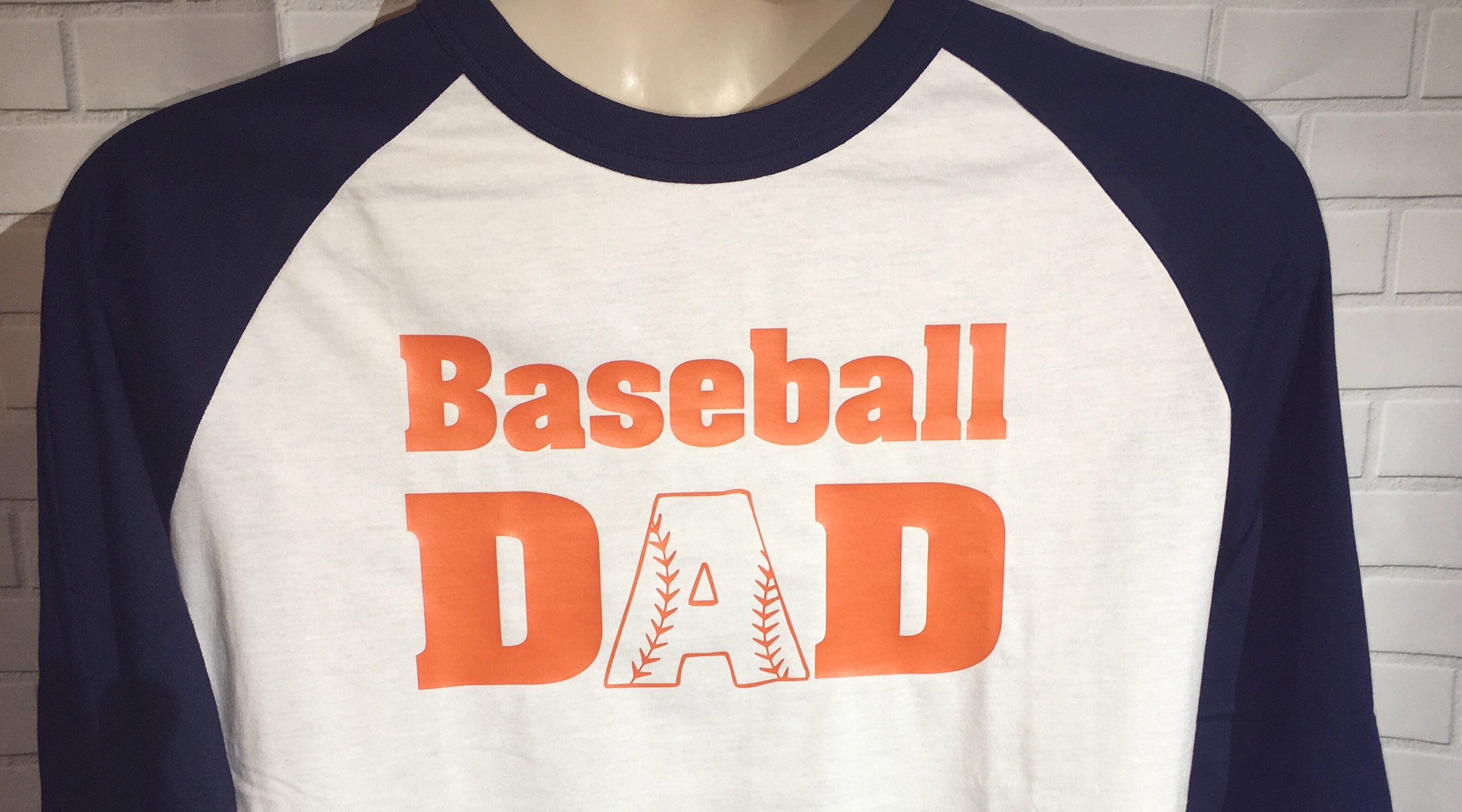 f5ae07a0d Baseball Dad Shirt, Baseball Dad Raglan, Shirts for Dad, Dad Sport Shirt,  Custom Baseball Dad Shirt, Gift for Dad, Baller Dad Shirt