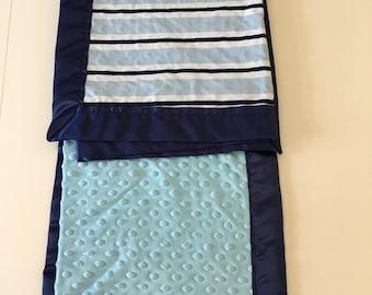 Blue Strips Baby Boy blanket