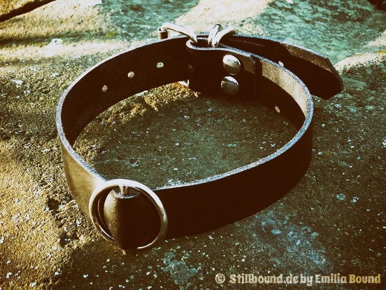 Chic choker kinky costume jewelry gothic choker: The croup image 0