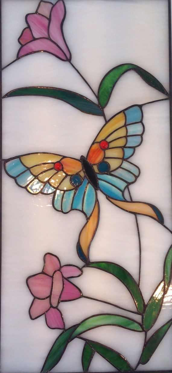 Butterfly designs for glass painting - photo#30