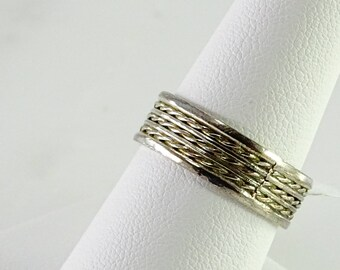 Braided Sterling Band Size 8.5