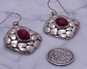 BJC Samuel B Sterling Silver Earrings (pierced)