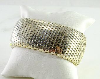 "Magnificent Italian Sterling Bracelet 7 1/2"""