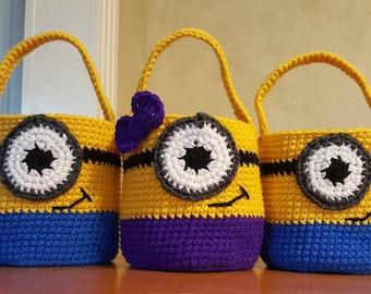 Minion Camera Case : Crochet minion bag etsy
