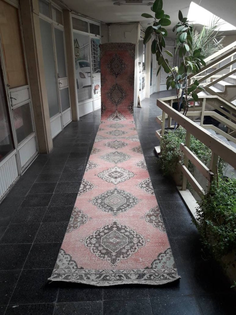 Extra Long Runner RugVintage Runner Rug3x25ft FREE SHIPPING image 0