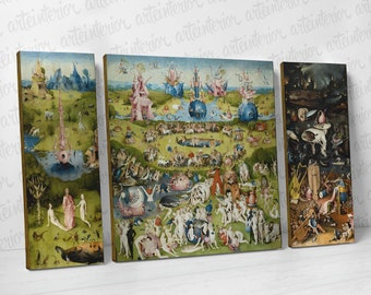 The Garden of Earthly Delights - Hieronymus Bosch - High definition Fine Art Giclée Print on Cavas