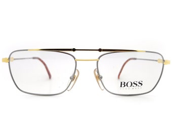 cebe294dfc Genuine 1990s Hugo Boss by Carrera 5124 41 Vintage Glasses    Made in  Austria    New Old Stock