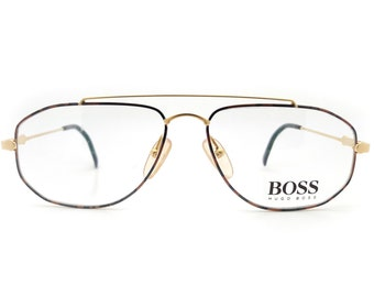 371e9b2f30 Genuine 1990s Hugo Boss by Carrera 5142 46 Vintage Glasses    Made in  Austria    New Old Stock