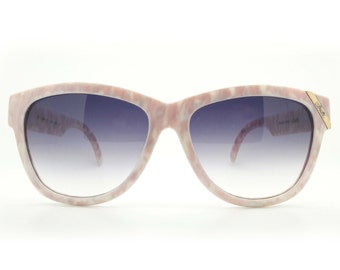 Genuine 1980s Silhouette M3086 Pink Vintage Sunglasses // New Old Stock // Made in Austria