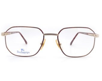 a16c031717f Genuine 1980s Burberry B8790 VH9 Vintage Glasses    Made in Italy    New  Old Stock